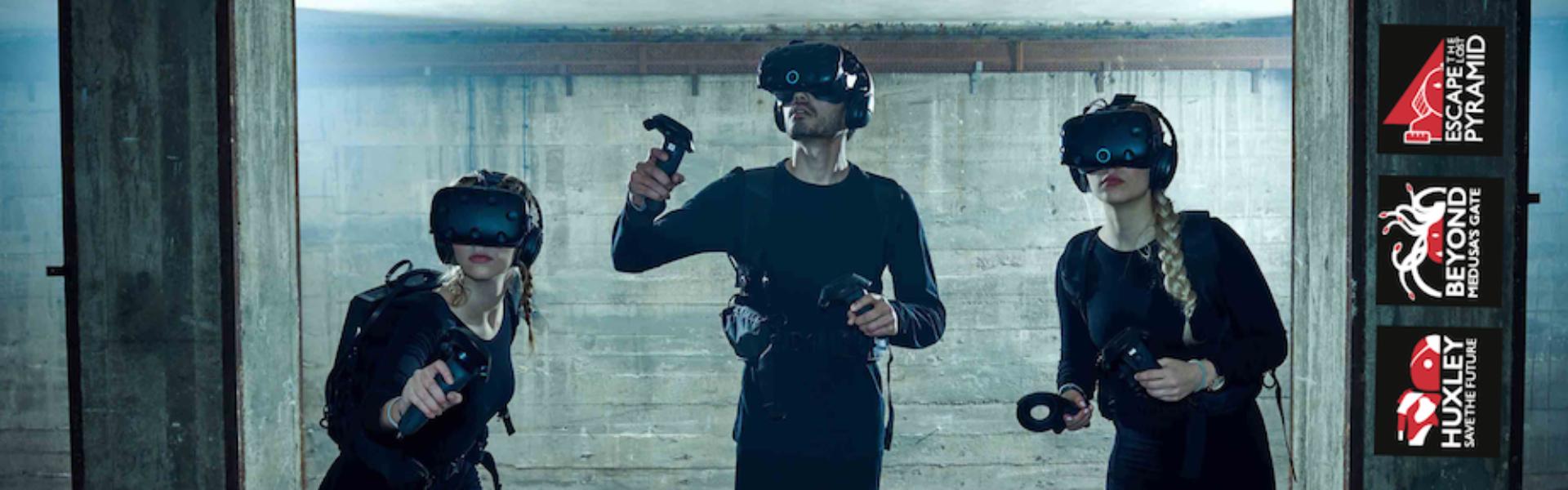 Virtual Reality Escape Rooms